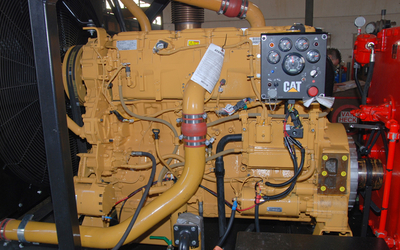 CATERPILLAR diesel engine. Type: C18 Acert