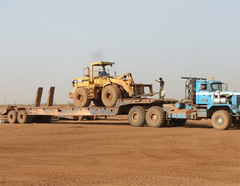 Brand new Oilfield Trailers. Different style. Made in Germany.- RAC Germany