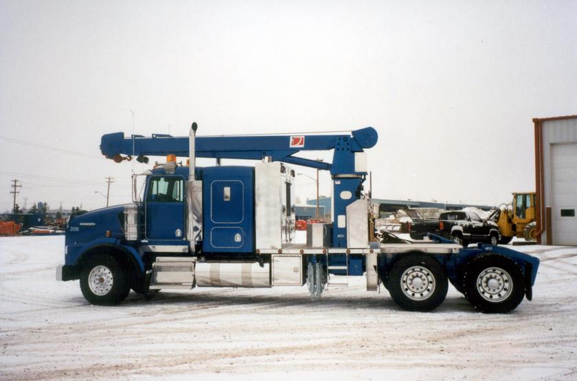 WELDCO-BEALES  Heavy duty, truck mounted hydraulic cranes  HL800