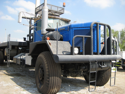 OILFIELD BED TRUCK, Kenworth 953A. RAC-Germany.