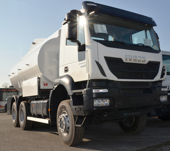 Mercedes 6X6 For Sale >> Production of tank trucks for transportation of diesel and ...