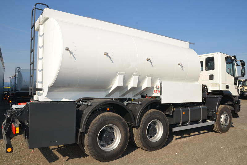 Production Of Tank Trucks For Transportation Of Diesel And