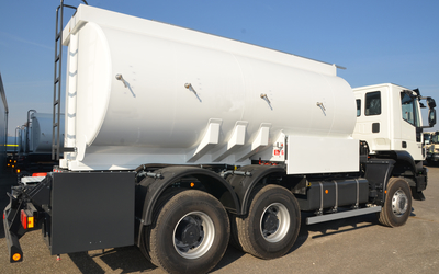 Tank superstructure for transportation of Diesel fuel and Petrol