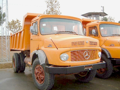 Brand new Mercedes-Benz truck Model 1924. RAC-Germany