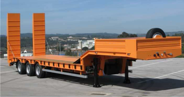 Different Types Of Low Bed Trailers High Quality And