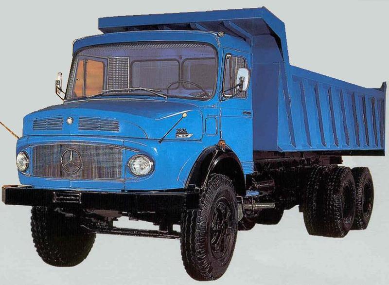 Neue mercedes benz lkw modell 2624 rac germany for Old mercedes benz trucks