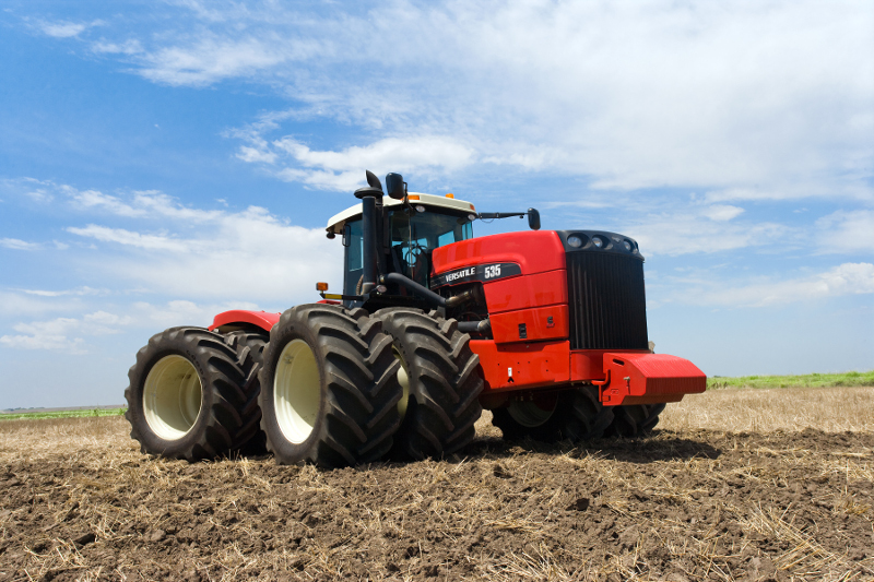 BUHLER Versatile 4WD HHT Tractor 435-575 HP