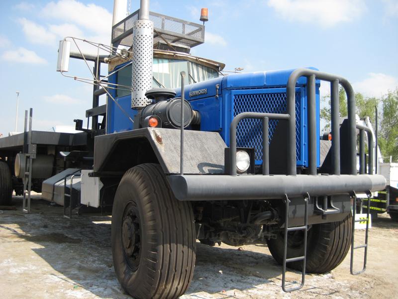 Camion special pour champ pétrolifère- RAC Germany
