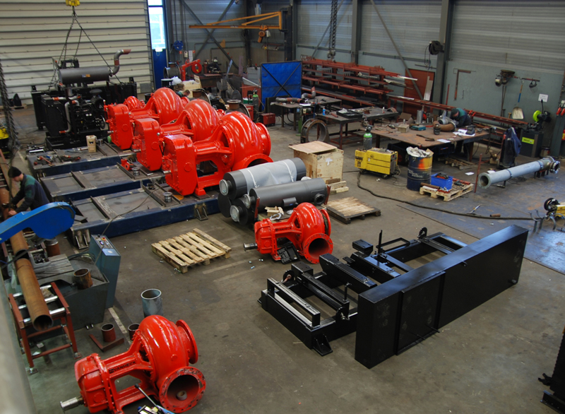 Water pumps with diesel engine for agricultural irrigation- RAC Germany
