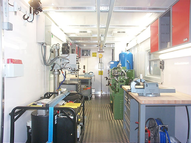 Mechanical Workshop Container Rac Germany