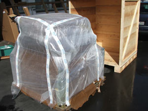 Special packing to protect from corrosion